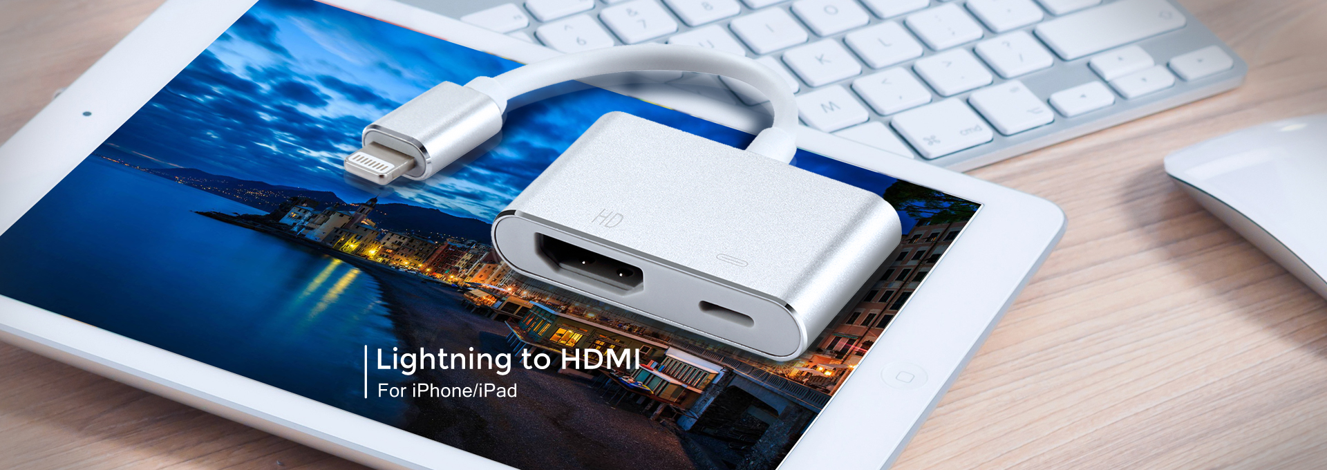 Lightning to HDMI